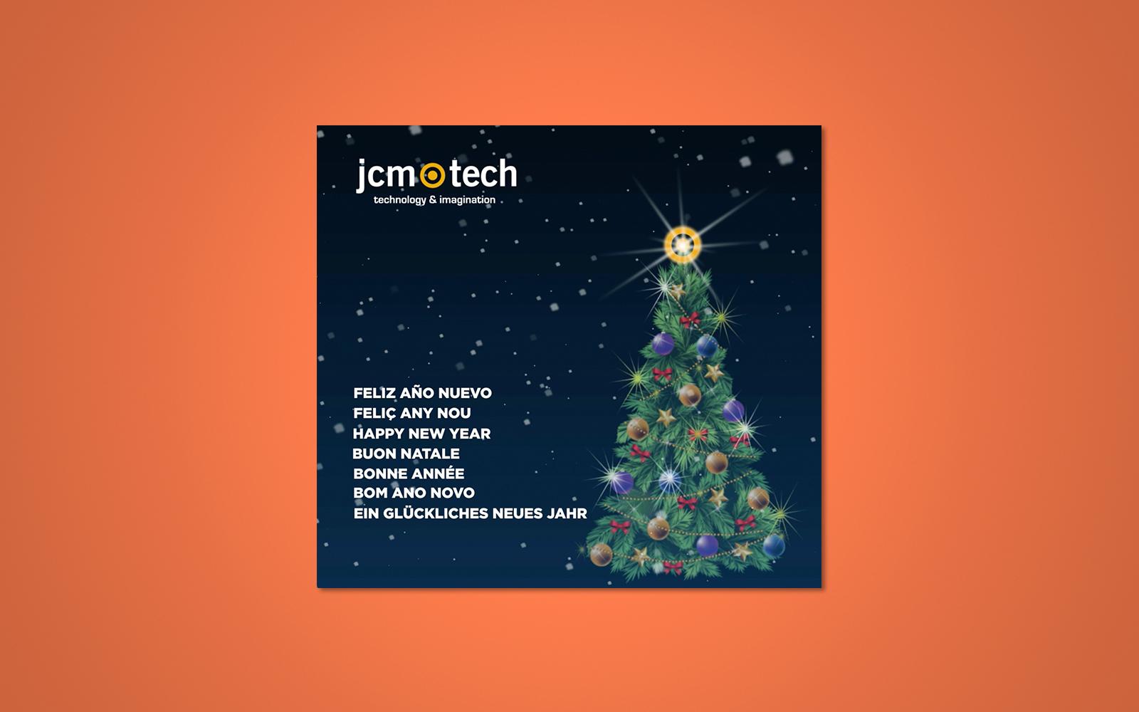 Felicitación De Navidad JCM Technologies